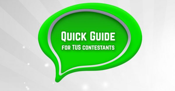 Hey Contestants! We're LIVE… and here is THE HOW!